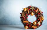 Christmas wreath - 220868322