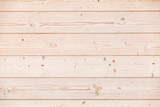 New wooden wall made of pine wood planks, texture - 220883168