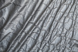 Creased plastic polyethylene film texture - 220883927