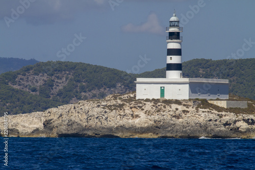 Lighthouse off the coast of Spain