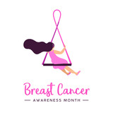 Breast Cancer Awareness concept for hope and love - 220896124