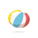Beach ball vector isolated - 220901938