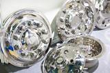 Decorative chrome hub caps for trucks - 220904179