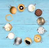 verschiedene Kaffeemomente - 220913124