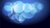 Abstract blue light and shade creative background. Vector illustration. - 220925580