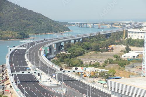 fototapeta na ścianę Hong Kong – Zhuhai – Macao Bridge