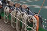 Takelage auf Segelschiff - 220933510