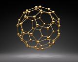Goldener Nanoball - 220974189