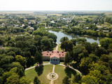 Aerial top view to palace ensemble Samchiki - 220981377