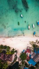 Vista aerea de Pulau perhentian Besar, Malasia. © Joel Cabrera
