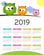 Calendario del nuovo anno in arrivo  - 2019
