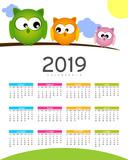 Calendario del nuovo anno in arrivo  - 2019 - 220987191