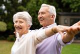 Active senior couple - 220988752