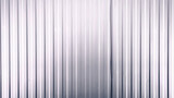 Full Frame Background of White Corrugated Metal Wall - 220994746