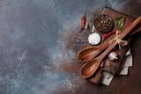 Vintage kitchen utensils and spices - 221004126