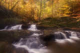 Water streams in Autumn at the Rhodope mountain range.