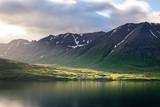 Einsames Dorf, Island, Nord-Küste