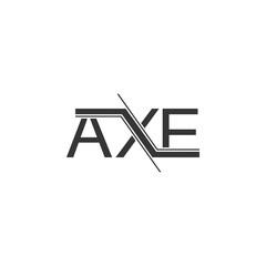 AXE logo design