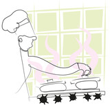 Simple line chef