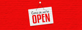 Come in we are open - 221069726