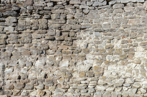 Stone wall for use as a background - 221081174