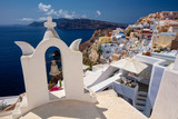 Image of famous cyclades village Oia located at the island of Santorini, South Aegean, Greece. - 221102397