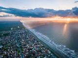 Plage et ville de Peruibe