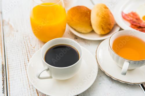 Fototapeta 朝食