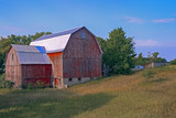 Red Barn on the Field - 221138925