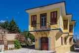 Traditional architecture in the old town of Trikala in Thessaly, Greece - 221139573