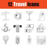 Travel icon set - 221150128