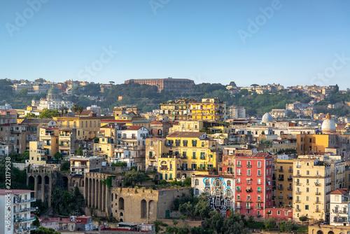 Fototapeta Naples Cityscape View