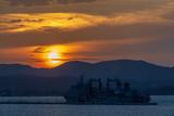 Sunset in Corfu, Greece