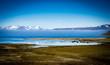 Leinwandbild Motiv Fjord landscape in Iceland