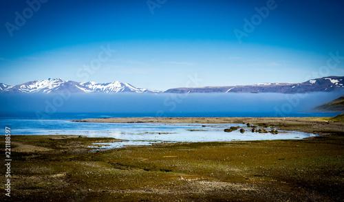 Fjord landscape in Iceland - 221188597