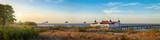 Seebrücke Ahlbeck - Älteste Seebrücke in Deutschland - Panorama - 221198712