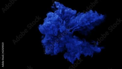 streszczenie-dym-ksztalt-wybuchu-niebieski-dym-tworzac-zawirowania