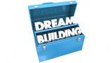 Dream Building Hopes Aspiration Tools Toolbox 3d Animation - 221226580