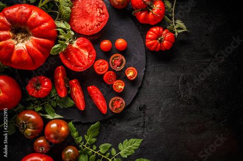 Chopped tomato - 221252915