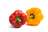 bell pepper isolated - 221253992