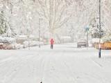 Street in Snow - 221260351
