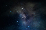 Milky way galaxy with nebula and stars - 221265153