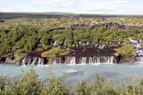 cascade Hraunfossar   - 221275934