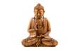 Quadro Wooden buddha statue