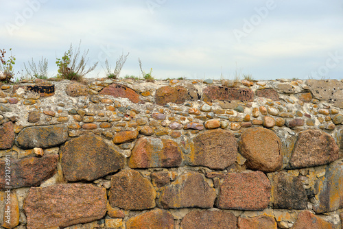 Fototapeta Old stone wall.