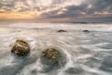 Sunrise on the beach of El Bobar - 221284373