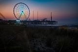 Steel Pier Ferris Wheel Sunrise - 221292186
