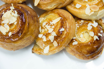Traditional pastry Sweet mini Danish