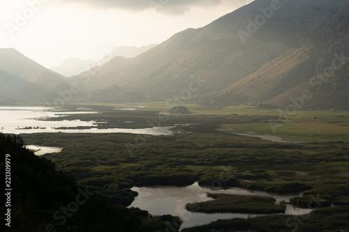 Foto Murales landscapes and naturalistic details