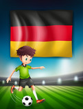 A German soccer player - 221314779